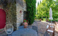 Giardino - Colonica in pietra con vista panoramica