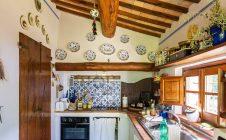 Cucina - Colonica in pietra con vista panoramica