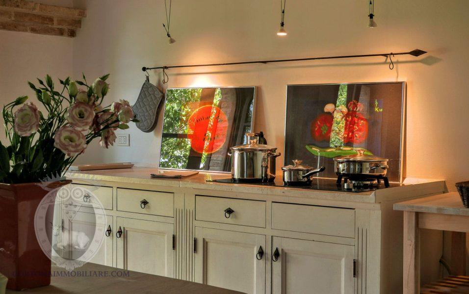 Cucina - Colonica tra le vigne