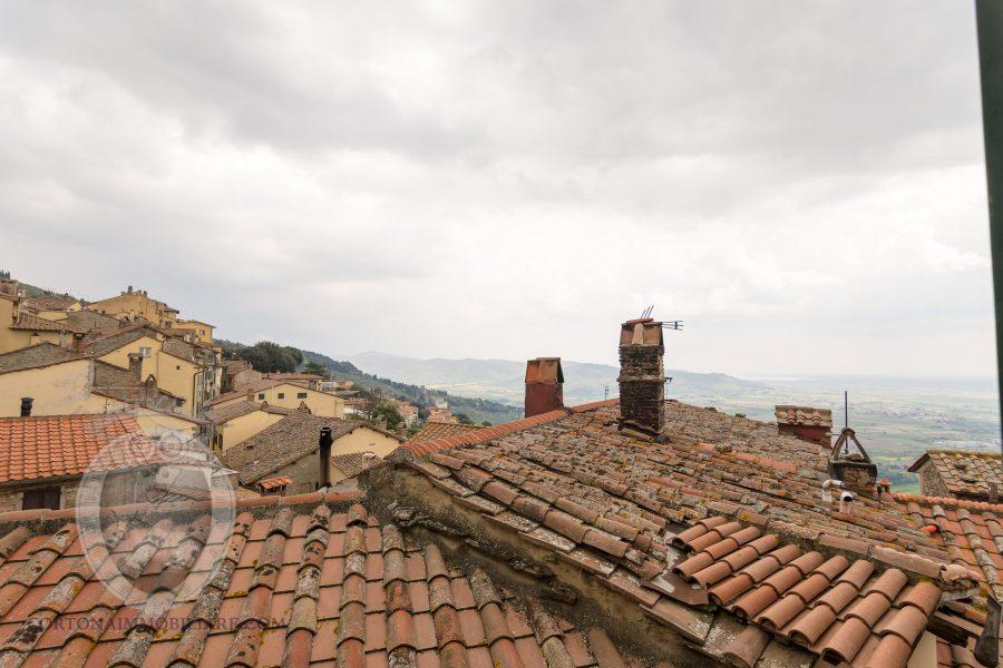Apartment in Cortona with 3 rooms