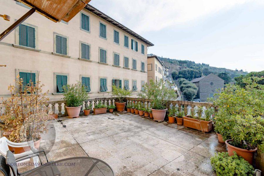 Appartamento a Cortona di oltre 230mq con terrazza