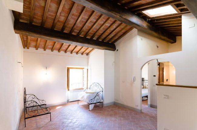 Trilocale restaurato a Cortona