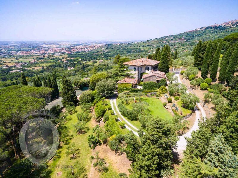 Wonderful liberty villa in Cortona