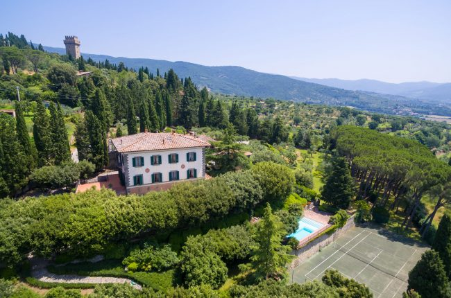 Wonderful liberty villa in Cortona