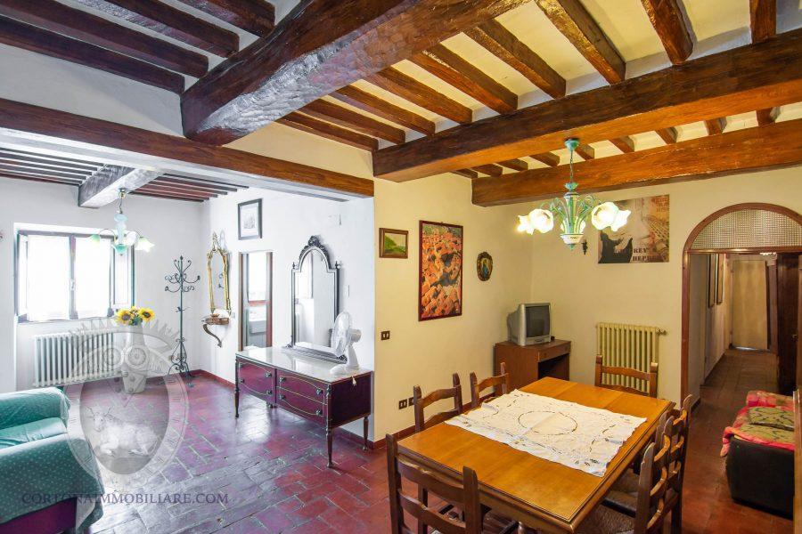 Appartamento a piano terreno a Cortona