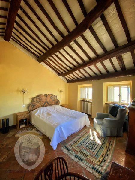 Historical terraced house in Cortona