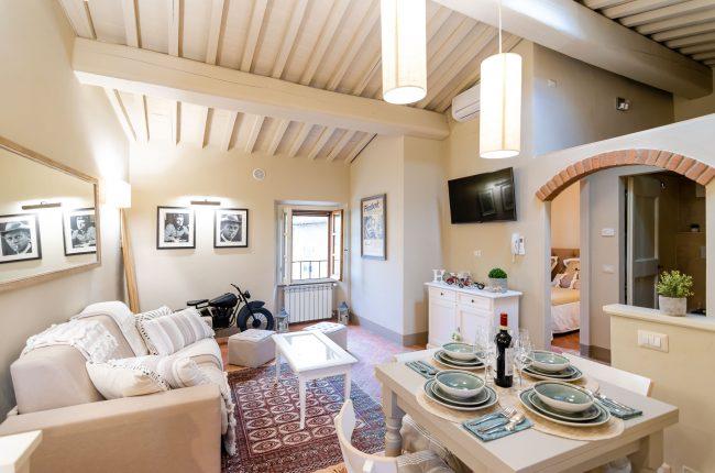 Luminoso appartamento nel centro storico di Cortona